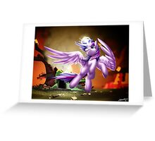Twilight Sparkle - Avenge Greeting Card