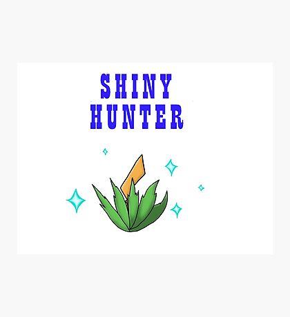 Shiny Hunter Photographic Print