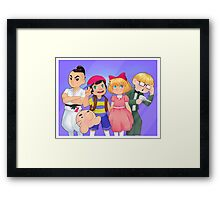 Say Fuzzy Pickles! Framed Print