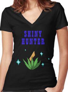 Shiny Hunter Women's Fitted V-Neck T-Shirt