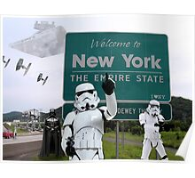 New York Welcome Poster