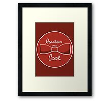 Bow ties are AWESOME Framed Print