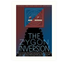 the zygon inversion poster Art Print