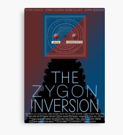 the zygon inversion poster Canvas Print