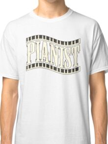 Old pianist wave Classic T-Shirt