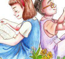 Matilda and Lavender Sticker