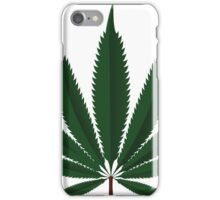 Cannabis leaf iPhone Case/Skin