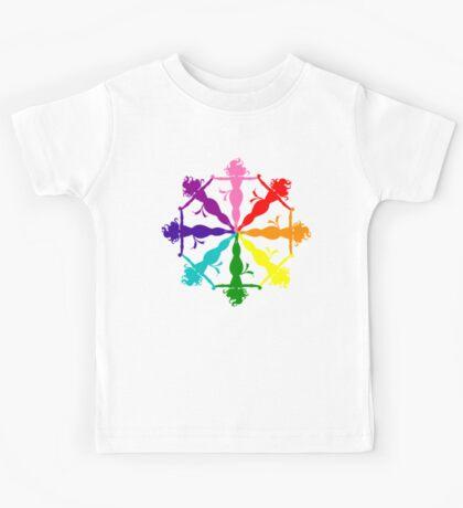 Jean Grey (Phoenix) LGBT Emblem Kids Tee