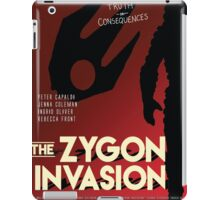 The Zygon Invasion Poster iPad Case/Skin