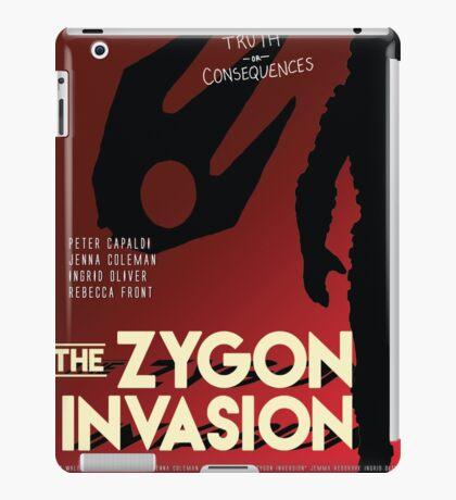 The Zygon Invasion Poster iPad Case/Skin