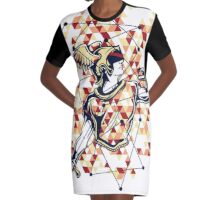 Flash Graphic T-Shirt Dress