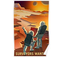 Mars - Surveyors Wanted Poster