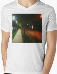 9:06, Walking at night Mens V-Neck T-Shirt