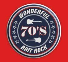 Wonderful 70's brit rock One Piece - Short Sleeve
