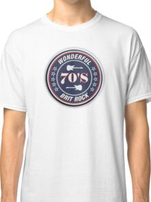 Wonderful 70's brit rock Classic T-Shirt