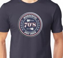 Wonderful 70's brit rock Unisex T-Shirt