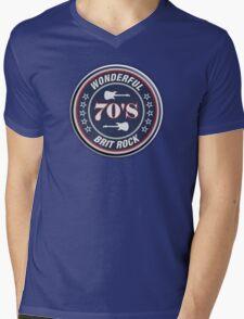 Wonderful 70's brit rock Mens V-Neck T-Shirt