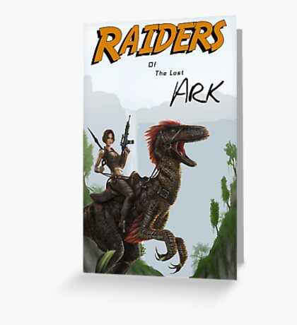 Raiders of the Lost Survival Greeting Card