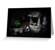 Gnomes at home Greeting Card