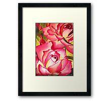 Hannah Gordon Rose flower Framed Print