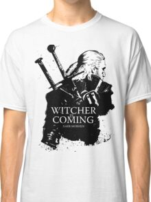 Witcher Is Coming Classic T-Shirt