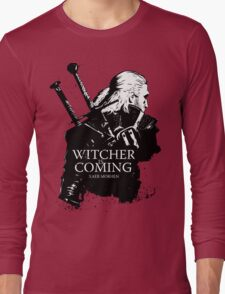 Witcher Is Coming Long Sleeve T-Shirt