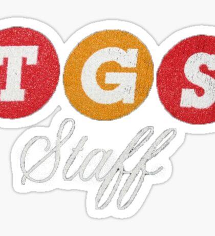 TGS Staff Logo Sticker
