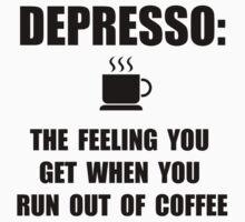 Depresso Coffee Kids Tee