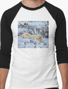 Yoga Bear slide Men's Baseball ¾ T-Shirt