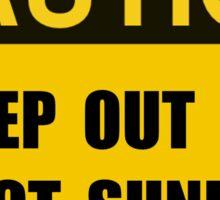 Direct Sunlight Sticker