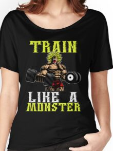 TRAIN LIKE A MONSTER Women's Relaxed Fit T-Shirt