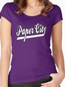 Paper City Women's Fitted Scoop T-Shirt