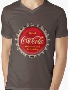 Bottle Cap Mens V-Neck T-Shirt