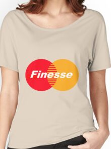 Finesse (Larger Design) Women's Relaxed Fit T-Shirt