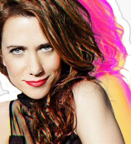 Kristen Wiig SNL Portrait Sticker