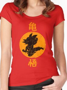DRAGON KICK Women's Fitted Scoop T-Shirt