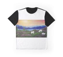 Blue Mountain Idle Graphic T-Shirt