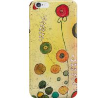 Garden in abstract I iPhone Case/Skin