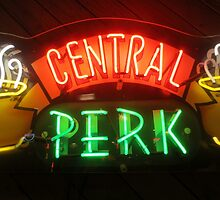 'Friends' Central Perk Sign by joshgranovsky