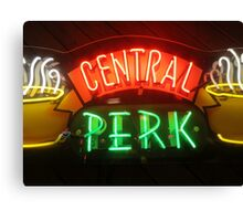 'Friends' Central Perk Sign Canvas Print