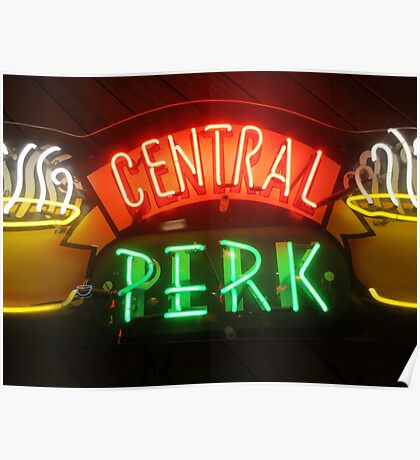 'Friends' Central Perk Sign Poster