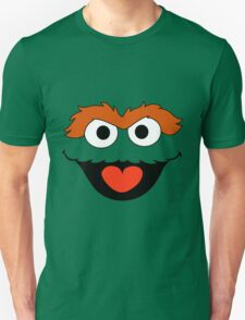 Oscar the Grouch face Unisex T-Shirt