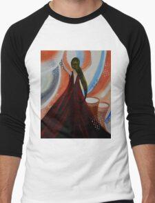 Love to dance by Saribelle Men's Baseball ¾ T-Shirt