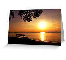 Roaring Point Beach, Nanticoke Maryland Greeting Card