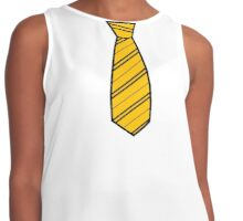Badger House Tie  Contrast Tank