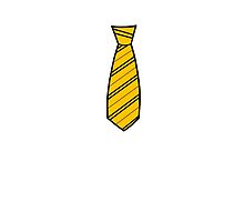 Badger House Tie  by Stacey Roman