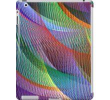 colored loom iPad Case/Skin