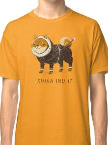 shiba inu-it Classic T-Shirt