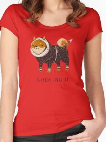 shiba inu-it Women's Fitted Scoop T-Shirt