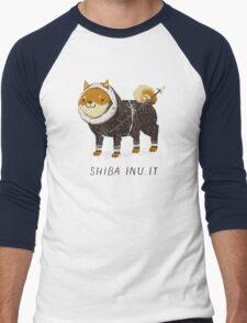 shiba inu-it Men's Baseball ¾ T-Shirt